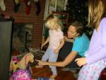 Norah helps sort out what Santa brought